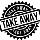 Take away en bezorgen